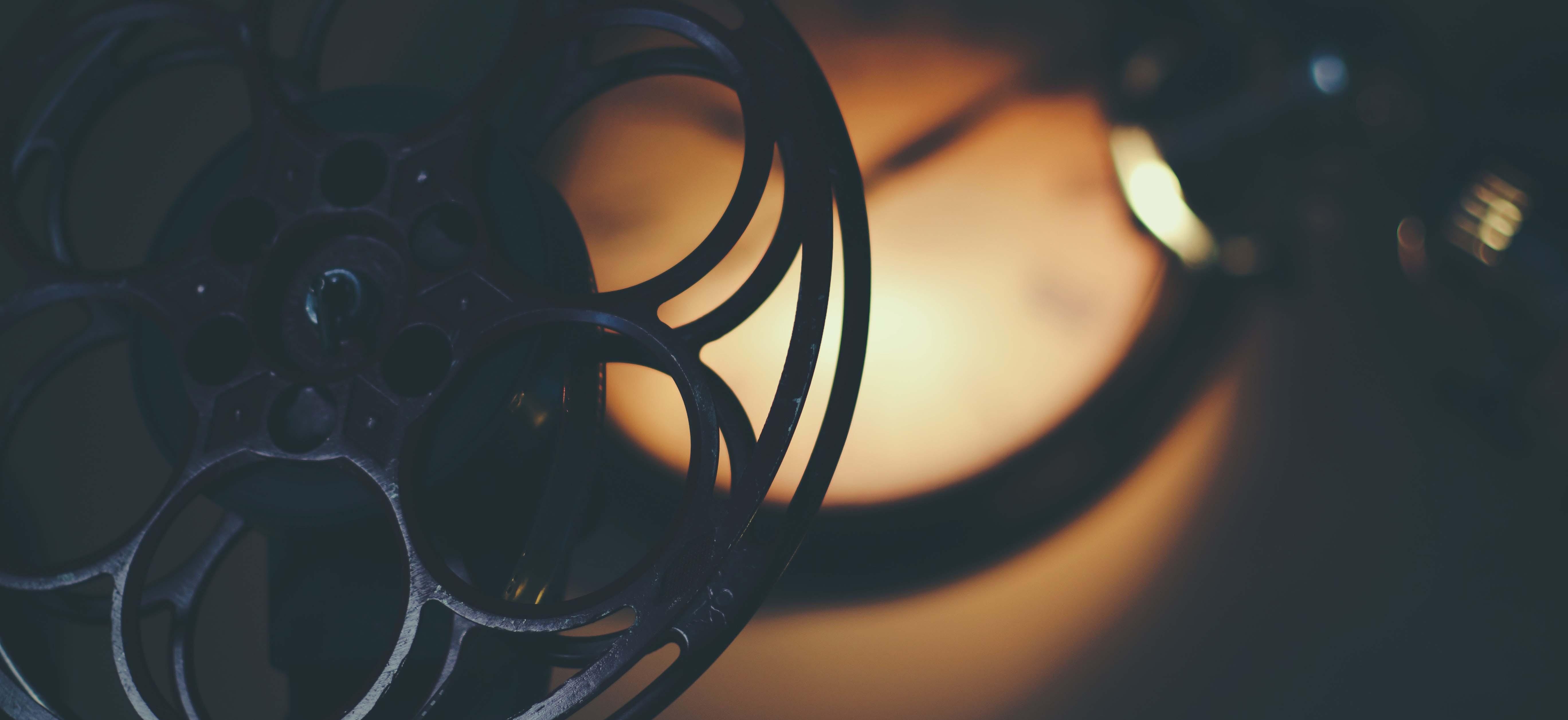 Old Retro Film Reel