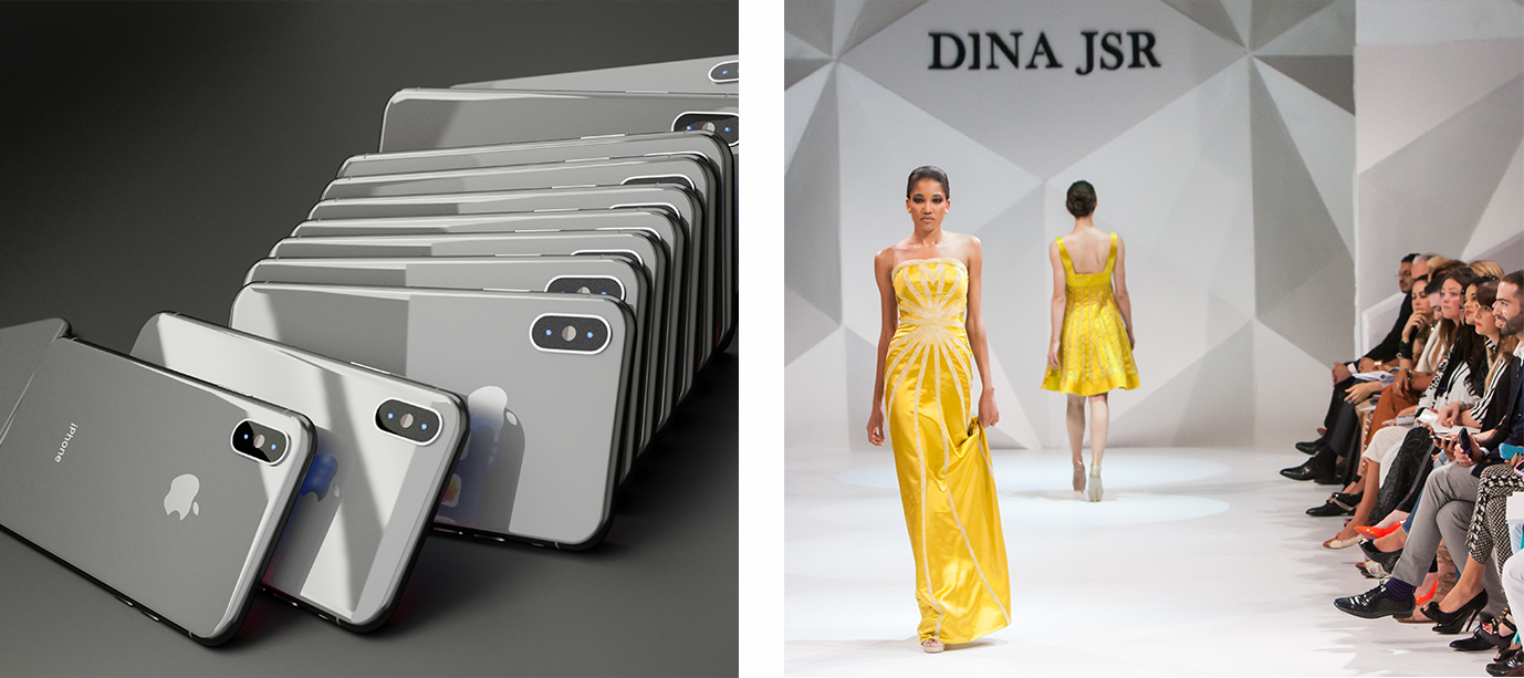 Catwalk and iPhones