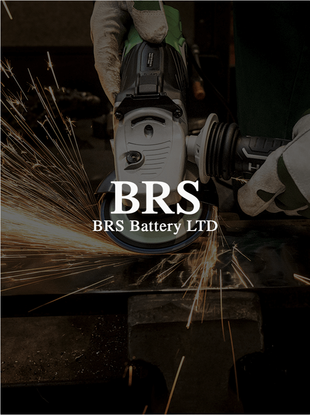 BRS business logo designed above industrial machine Photography